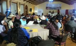 El TSE promueve la participación de las mujeres en los procesos de autonomías indígena originario campesinas