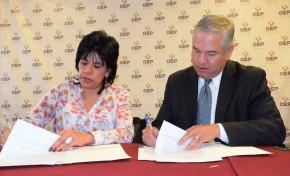 Elecciones Judiciales: el TSE y la OEA firman acuerdo para el arribo de una Misión de Observación Electoral
