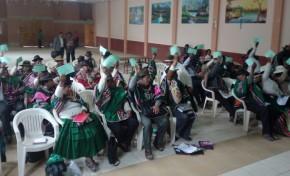 Los estatutos autonómicos indígenas del TIM 1 y Corque Marka son declarados 100% constitucionales