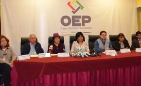 El TSE entrega resultados oficiales de la elección de Altas Autoridades Judiciales