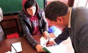 En Potosí se cierra la primera mesa en el municipio de San Pedro de Quemes