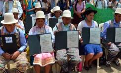 Hitos del Autogobierno indígena de Raqaypampa