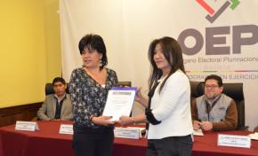 Elecciones Judiciales: TSE recibe informe final de Unasur y anuncia mejoras en procesos electorales