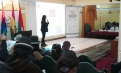 Realizarán talleres informativos con entidades territoriales que deseen participar en el Referendo Autonómico 2018