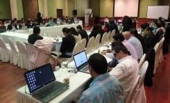 Taller nacional de vocales en Tarija. OEP define agenda electoral para el 2018