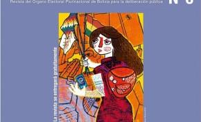 El OEP presenta la revista Andamios N° 6 con visiones democráticas desde la juventud