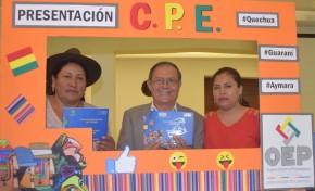 Presentan en Cochabamba la Constitución Política del Estado traducida a l quechua, aymara y guaraní