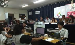 El TED Cochabamba inicia el cómputo de las actas electorales de COMTECO
