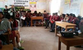 El TED realiza talleres sobre Democracia Intercultural y Paritaria en municipios del suroeste de Potosí