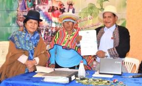 El TSE y la CONAIOC firman un convenio para el fortalecimiento de las democracias en las autonomías indígenas