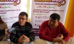 Tarija: convocan a la población de Yacuiba a empadronarse para ejercer su derecho a participar