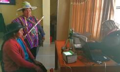 Potosí: 270 personas se registraron en Chuquihuta para elección de alcaldesa o alcalde municipal