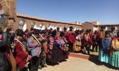 Cinco comisiones iniciarán este sábado la redacción del proyecto de estatuto autonómico indígena de Jesús de Machaca
