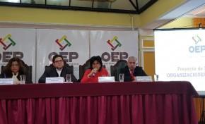 Conferencia: presentación del Proyecto de Ley de Organizaciones Políticas