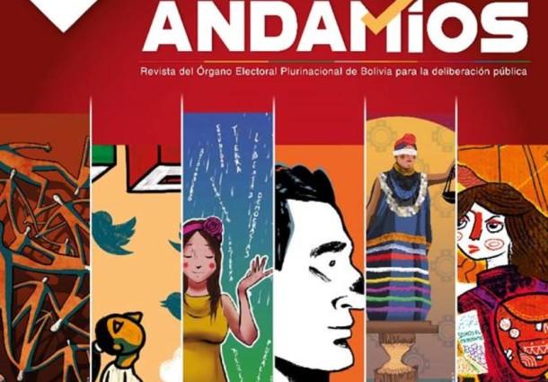 La Paz: presentarán los seis números de la Revista Andamios en la FIL 2018