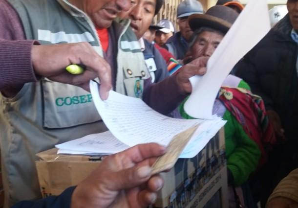 Oruro: la cooperativa de electrificación en Paria renovó sus consejos de Administración y Vigilancia