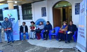 El OEP convoca a la ciudadanía de Chuquihuta a participar en la elección de la o el nuevo ejecutivo municipal