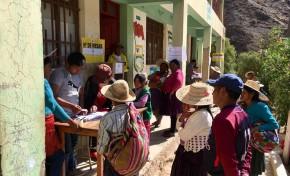 El TED Potosí instala su sesión pública para el cómputo de las actas electorales de Chuquihuta