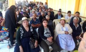 Cochabamba: Calderón y Foronda presiden la cooperativa de agua en Coña Coña