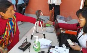Nueve brigadas se movilizan en Cotagaita para el empadronamiento en miras de la elección municipal