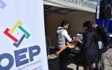 La Paz: informan sobre Democracia Intercultural en la feria de Alto Obrajes