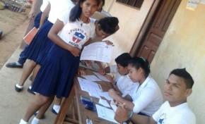 37 unidades educativas del área rural en Pando eligieron a sus gobiernos estudiantiles
