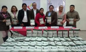 Referendo Autonómico: el TED Tarija entregó 20.000 ejemplares del proyecto de Carta Orgánica de Yacuiba para apoyar la socialización