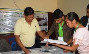 Urubichá alcanzó el porcentaje de firmas requeridas para avanzar hacia su gobierno indígena