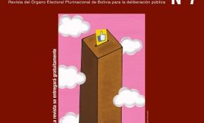 El OEP presentará en Tarija la séptima Revista Andamios que analiza las TIC y su influencia en las democracias