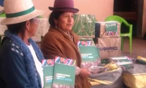 Oruro: Corque Marka recibió un lote de ejemplares de su estatuto autonómico indígena para la socialización