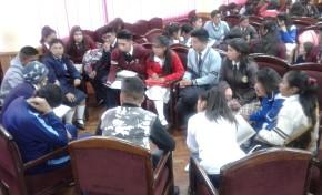 Oruro: cerca de 40 Gobiernos estudiantiles se capacitaron en gobernabilidad
