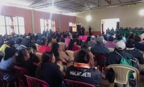 Macharetí posesionó a las y los asambleístas que trabajarán su estatuto autonómico indígena