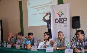 Santa Cruz: avanzan las actividades para el Referendo Autonómico en Puerto Quijarro