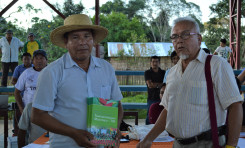 El Territorio Indígena Multiétnico recibe 900 ejemplares de estatuto para apoyar la socialización