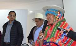 Presencia de las mujeres indígenas en los gobiernos indígenas