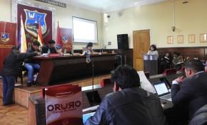Oruro: socializan con el pleno de la Asamblea Legislativa Departamental la Ley Contra el Acoso y Violencia Política