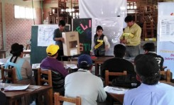 Potosí: comienzan las capacitaciones para jurados y notarios electorales en Cotagaita