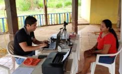 El Sereci Pando registra a más de 400 personas durante el empadronamiento para el Referendo Revocatorio en Bolpebra