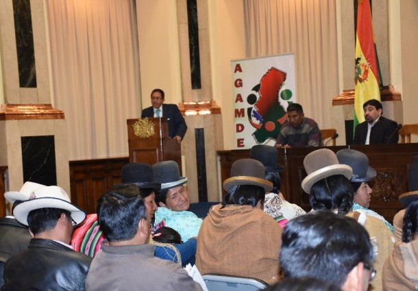 Socializan la Ley de Organizaciones Políticas con las autoridades municipales de La Paz