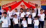 La unidad educativa Nuestra Señora de Begoña recibe las credenciales de su gobierno estudiantil