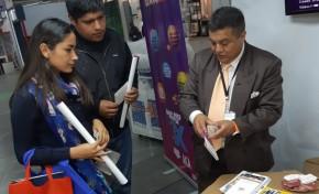 El OEP participa en la Fexpo Sucre Internacional con la exposición de publicaciones y servicios registrales