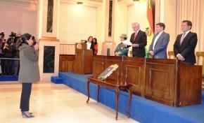 La vocal del TSE, Lidia Iriarte, asumió sus funciones este miércoles y sesionó por primera vez en Sala Plena