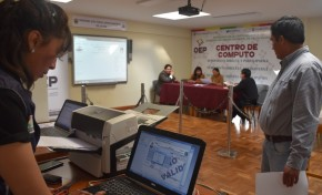 Referendo Autonómico: ultiman detalles para la consulta de este domingo en Palos Blancos