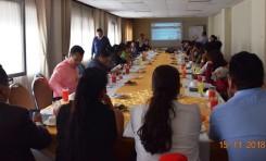 Más de 60 periodistas de Cochabamba se informaron sobre el proceso de las Elecciones Primarias 2019