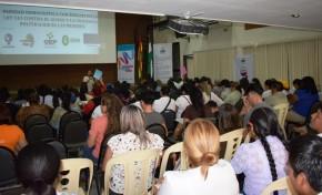 Santa Cruz: cinco instituciones articularán esfuerzos para luchar contra la violencia política hacia las mujeres autoridades electas