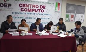 Referendo Autonómico: el No a la Carta Orgánica se impuso en Palos Blancos