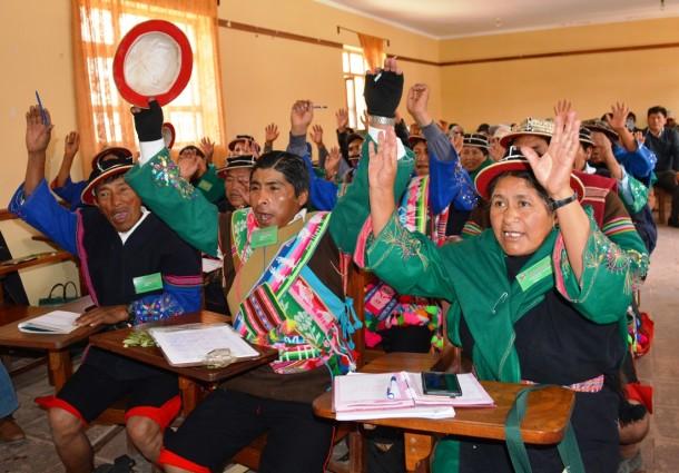 Potosí: Jatun Ayllu Yura aprueba su proyecto de Estatuto Autonómico indígena y se apresta a remitirlo al TCP