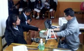 """Campaña """"Yo no soy X"""":  el OEP logra registrar a 102.580 jóvenes de secundaria para evitar errores en sus documentos personales"""