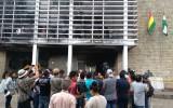 El TED Santa Cruz exige una investigación a los hechos de violencia que generaron destrozos en sus oficinas