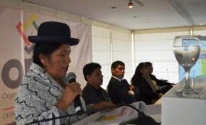 El TSE destaca avances en la Democracia Intercultural en Bolivia durante su informe de gestión 2018